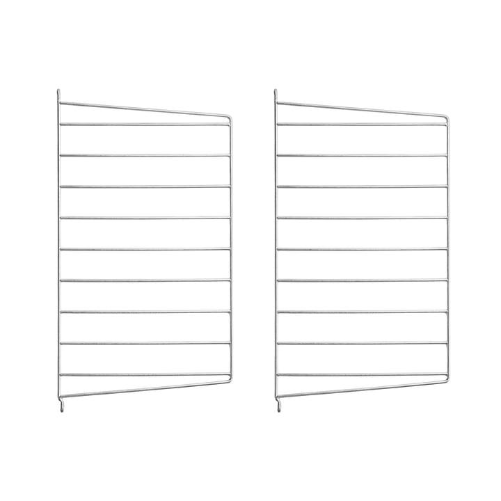 Wandleiter für String Regal 50 x 30 cm (2er-Set) von String in verzinkt