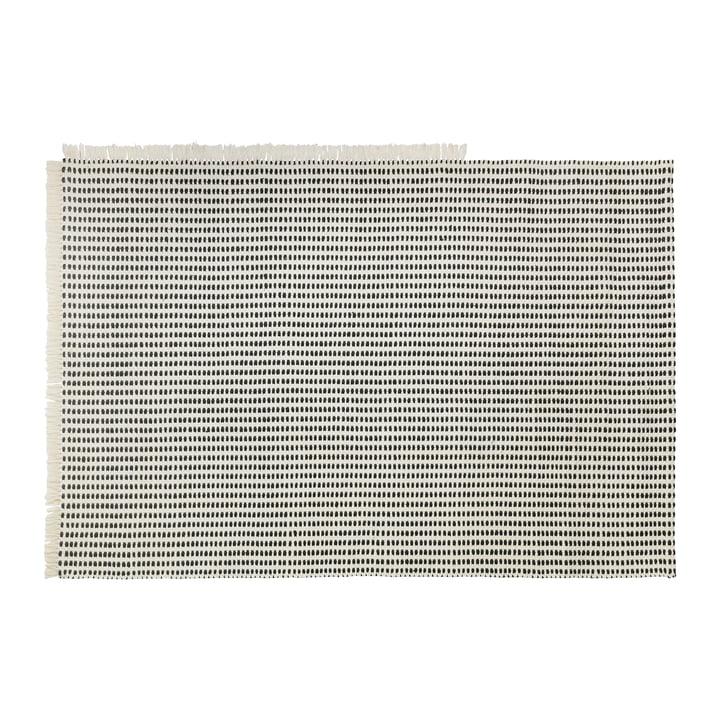 Way Outdoor Teppich, 140 x 200 cm in off-white / blau von ferm Living