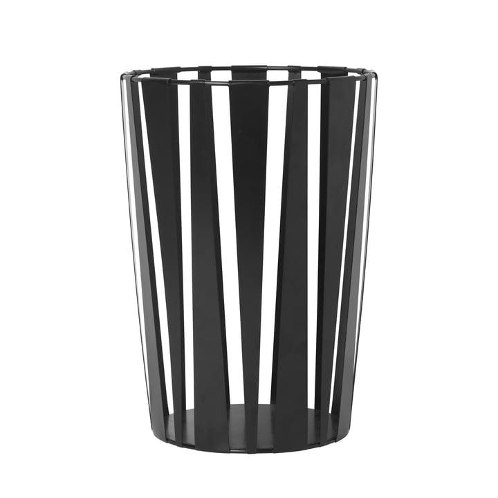 Rob Metall-Korb in schwarz von ferm Living