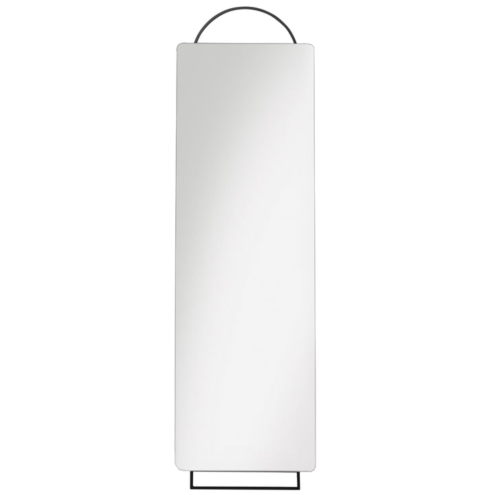 Adorn Spiegel Full Size, 45 x 159 cm, schwarz von ferm Living
