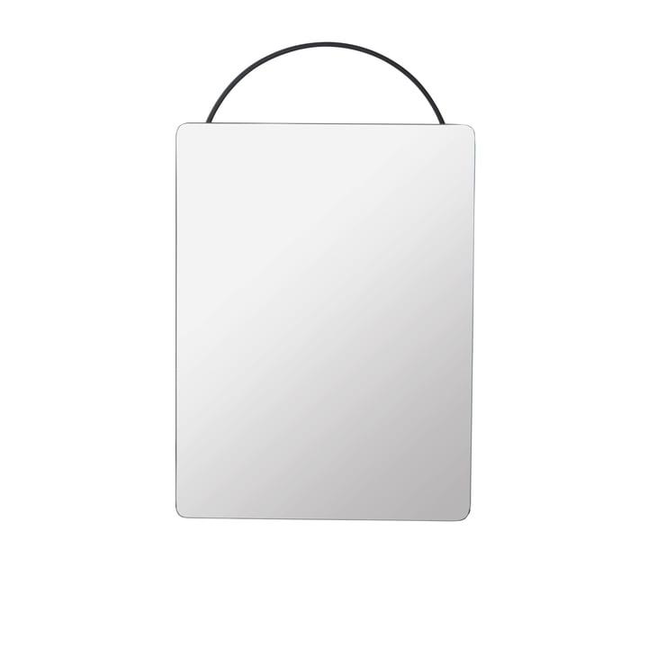 Adorn Spiegel Face, 35 x 53 cm, schwarz von ferm Living