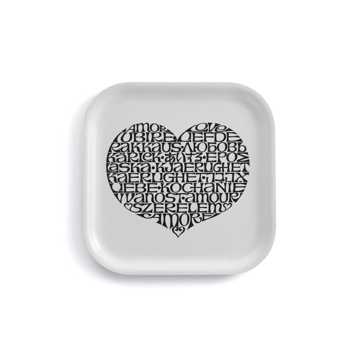 Classic Tray small International Love Heart von Vitra