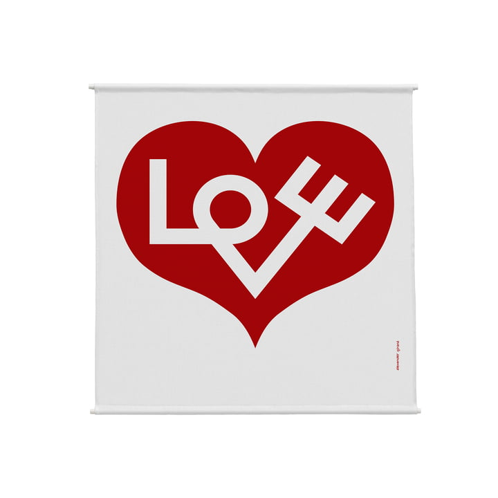 Environmental Wall Hanging Wand-Panel 83 x 86 cm Love Heart von Vitra