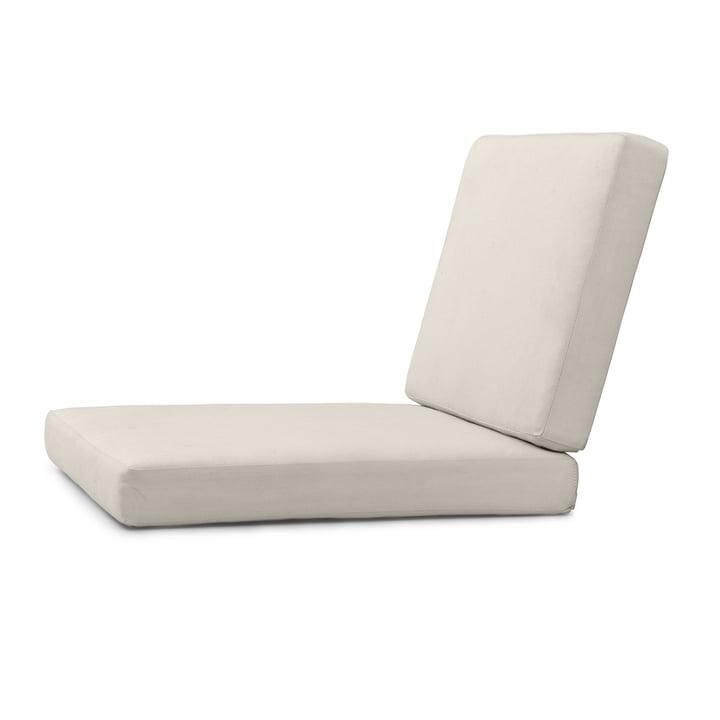 Sitzauflage für BK10Gartenstuhl von Carl Hansen in Sunbrella canvas 5453