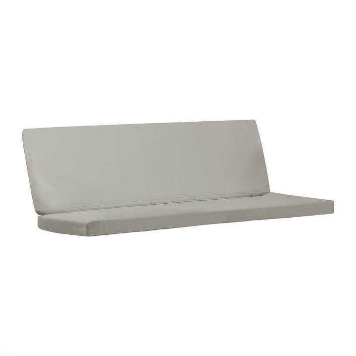 Sitzauflage für BK12 Lounge Sofa von Carl Hansenin Sunbrella charcoal 54048