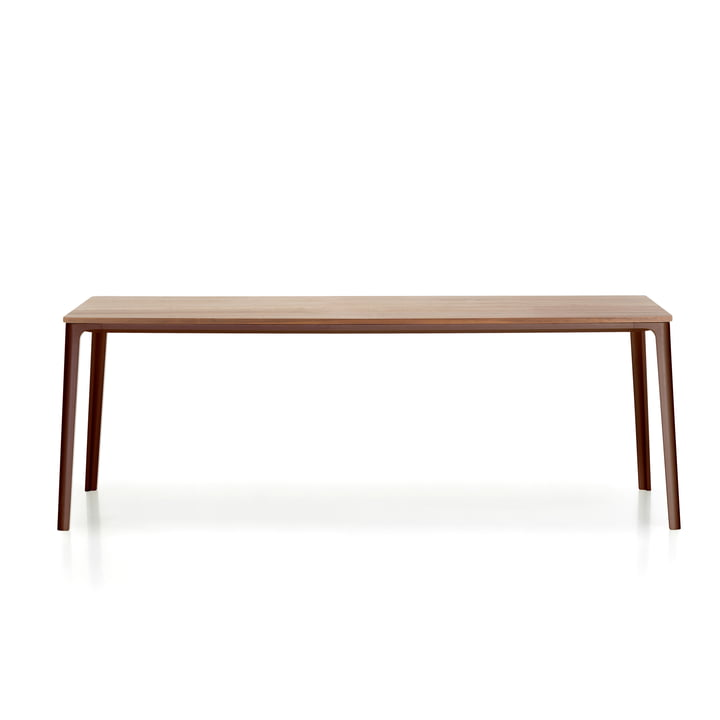 Plate Dining Table 160 x 80 cm von Vitra in Eiche natur / chocolate