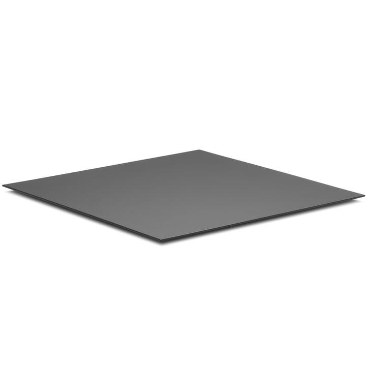 Base für Kubus 8, 30 x 30 cm von by Lassen in schwarz