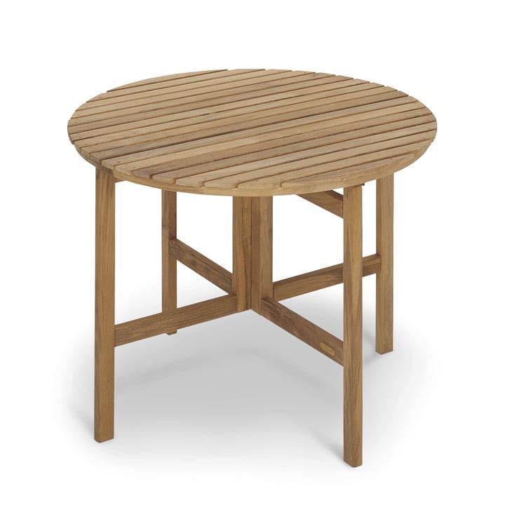 Selandia Tisch Ø 94 cm von Skagerak in Teak