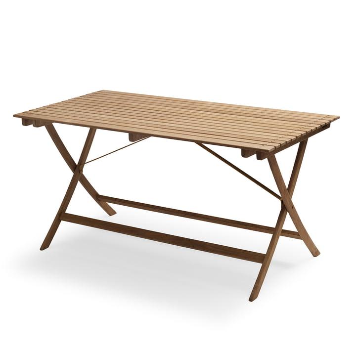 Selandia Tisch 147 x 75 cm von Skagerak in Teak