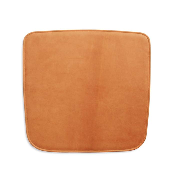 Sitzauflage für Hven Armlehnstuhl von Skagerak in cognac (Protected Leather)