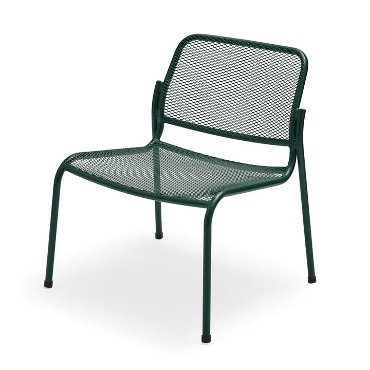 Mira Lounge Chair von Skagerak in jagdgrün