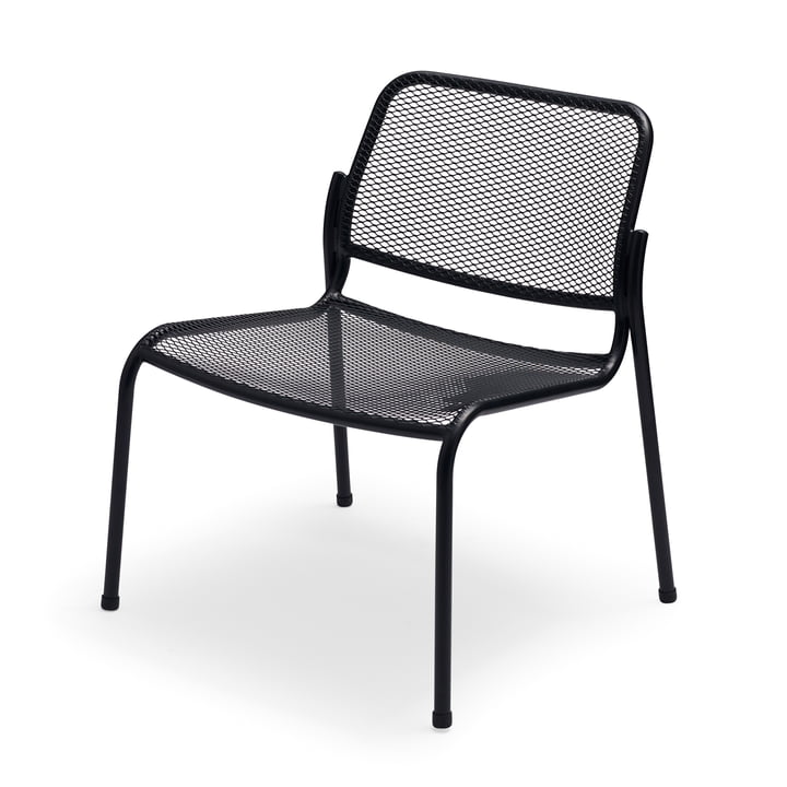 Mira Lounge Chair von Skagerak in anthrazit