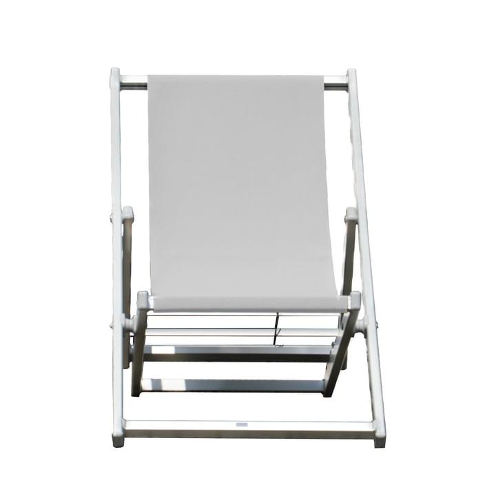 Rimini Deckchair von Jan Kurtz in weiß