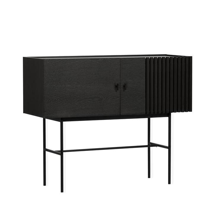 Array Sideboard 120 cm von Woud in schwarz