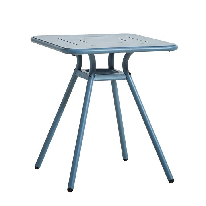 Ray Café Tisch quadratisch von Woud in blau