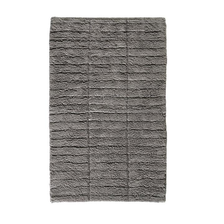 Soft Tiles Badezimmermatte, 80 x 50 cm in stone grey von Zone Denmark
