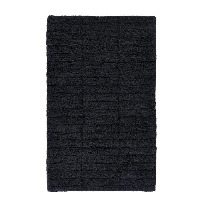 Soft Tiles Badezimmermatte, 80 x 50 cm in schwarz von Zone Denmark