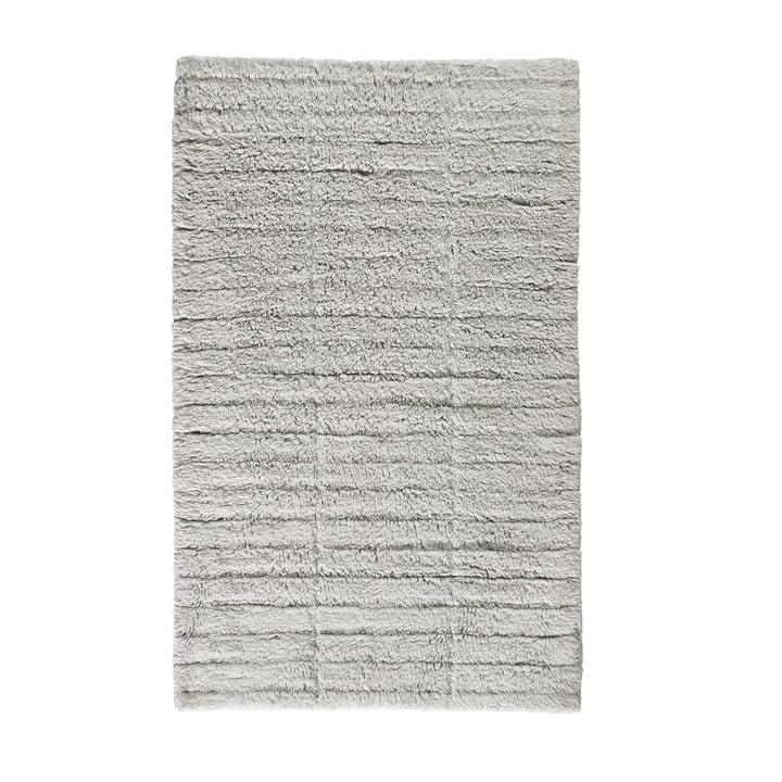 Soft Tiles Badezimmermatte, 80 x 50 cm in pure grey von Zone Denmark