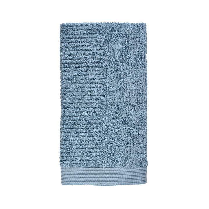 Classic Handtuch, 100 x 50 cm in blue fog von Zone Denmark