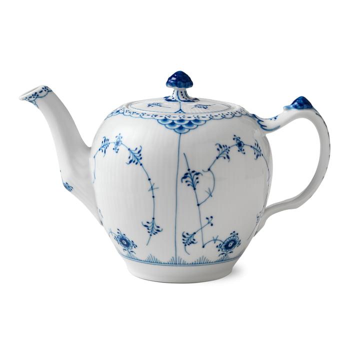 Musselmalet Halbspitze Teekanne 1 l von Royal Copenhagen