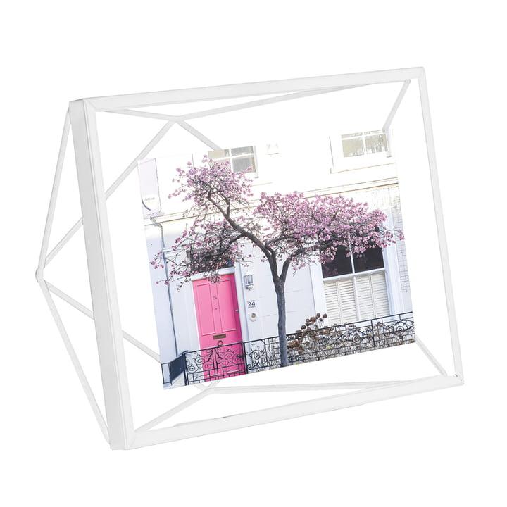 Prisma Bilderrahmen 13 x 18 cm in weiß von Umbra