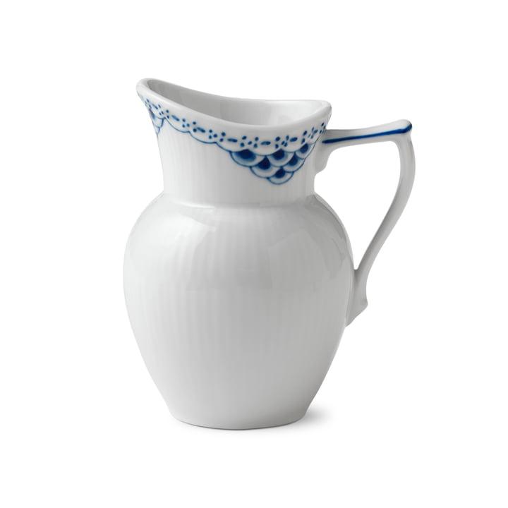 Prinzess Sahnegießer 17 cl in weiß / blau von Royal Copenhagen