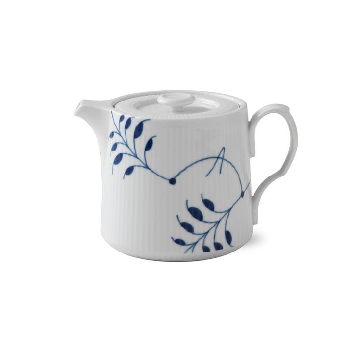 Mega Blau Gerippt Teekanne 75 cl von Royal Copenhagen