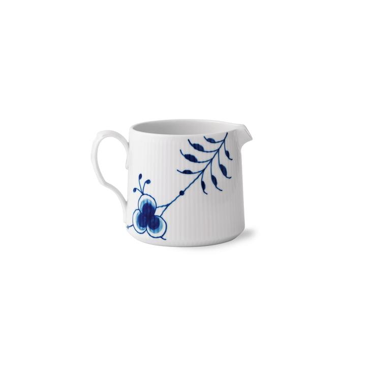 Mega Blau Gerippt Milchkännchen 70 cl von Royal Copenhagen