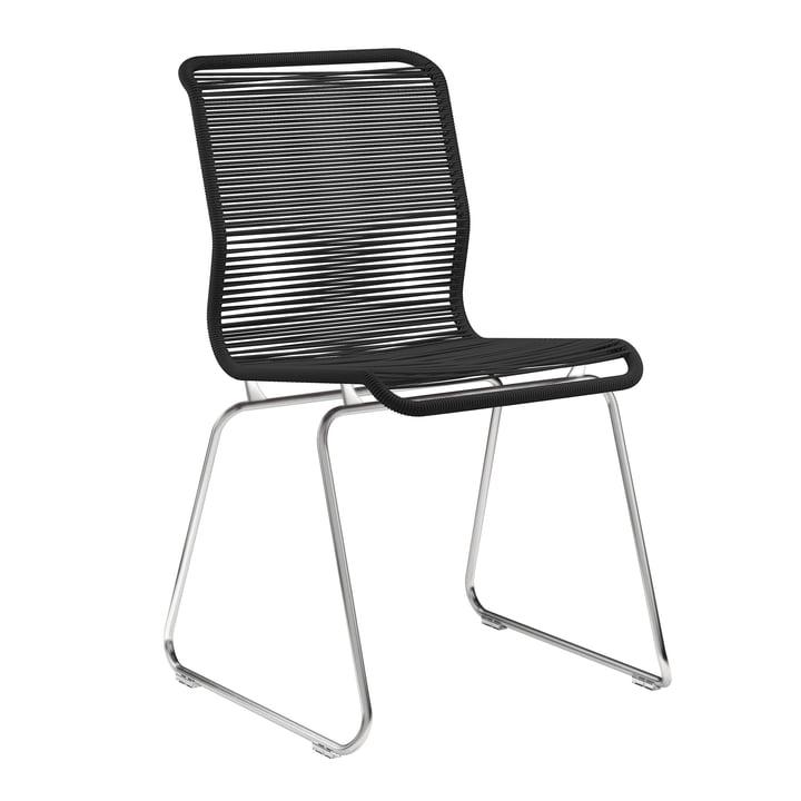Panton One Stuhl von Montana in Clark / Edelstahl