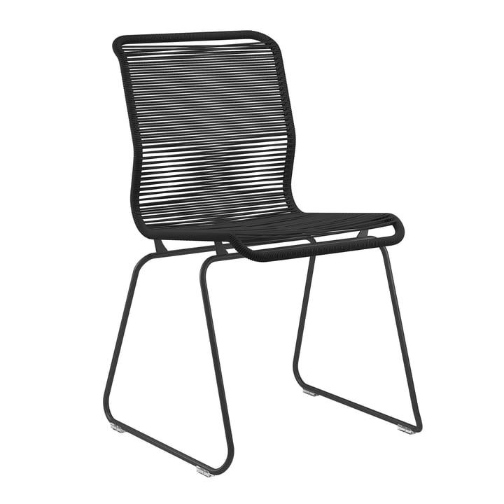 Panton One Stuhl von Montana in Clark / schwarz