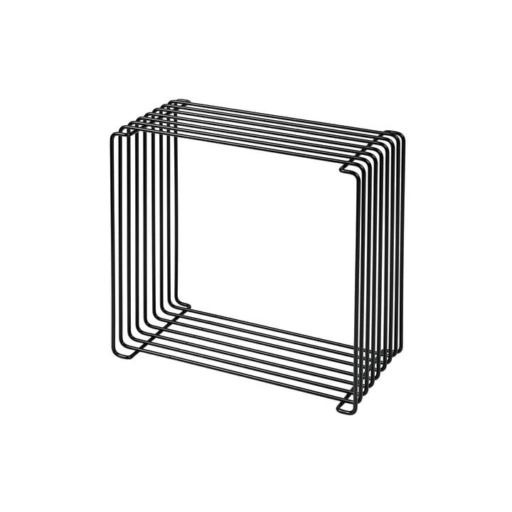 Panton Wire Regal 18,8 cm von Montana in schwarz