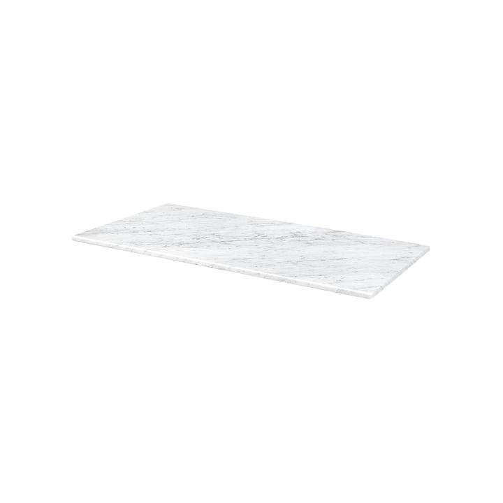 Abdeckplatte für Panton Wire 34,8 x 18,8 cm von Montana in Marmor weiß