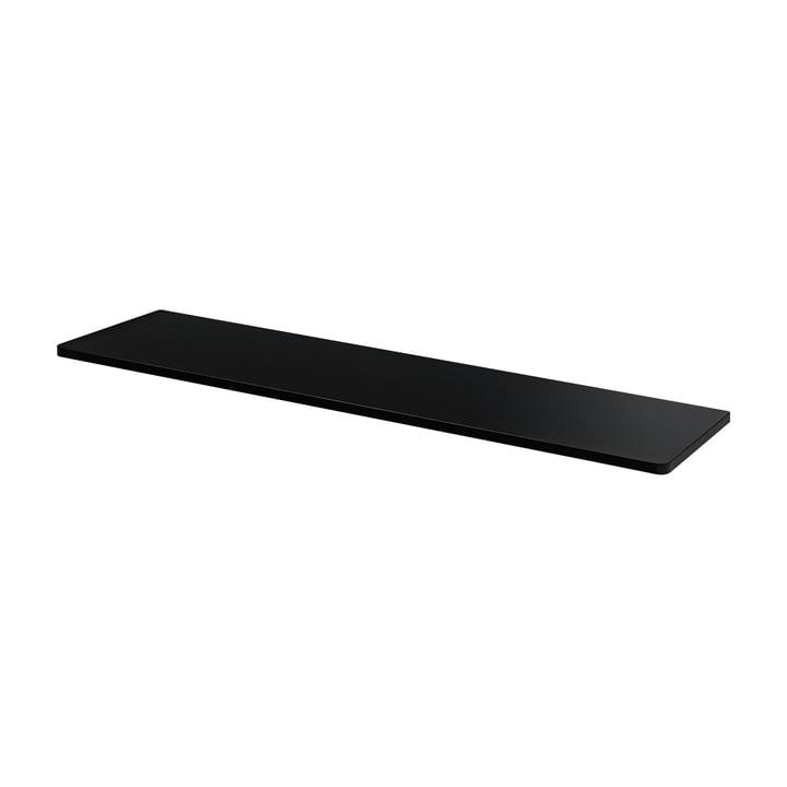 Abdeckplatte für Panton Wire 70,1 x 18,8 cm von Montana in MDF schwarz