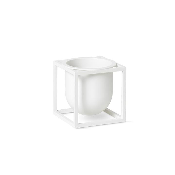 Kubus Flowerpot 10 von by Lassen in weiß
