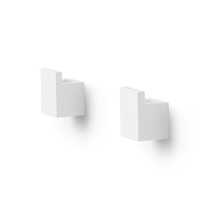 Kubus Wall Wandhalterung von by Lassen in weiß