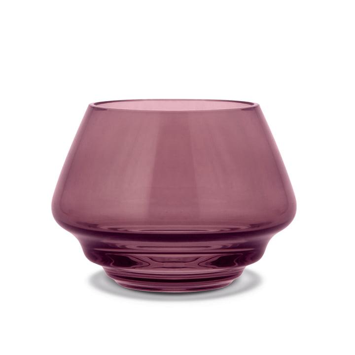 Flow Teelichthalter Ø 10 cm von Holmegaard in plaume