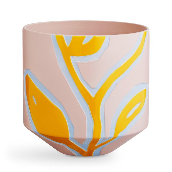 Fiora Übertopf H 25 cm von Kähler Design in pink