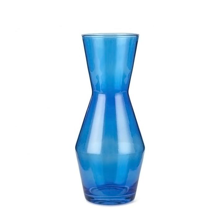 Double Up Karaffe, Ø 11 x 26 cm in blau von Spring Copenhagen