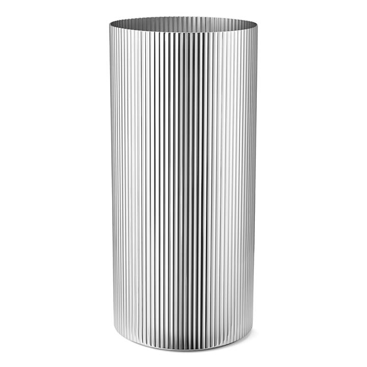 Bernadotte Vase groß in Edelstahl poliert von Georg Jensen