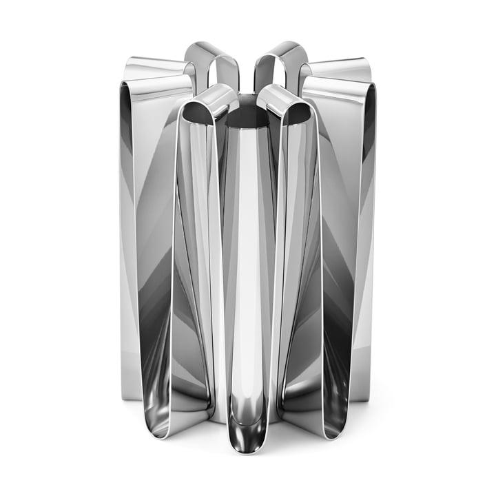Frequency Vase in Edelstahl poliert von Georg Jensen