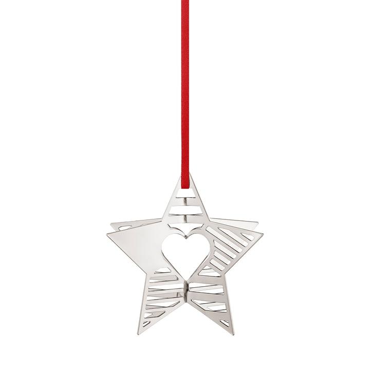 Holiday Ornament 2019 Stern, palladium von Georg Jensen