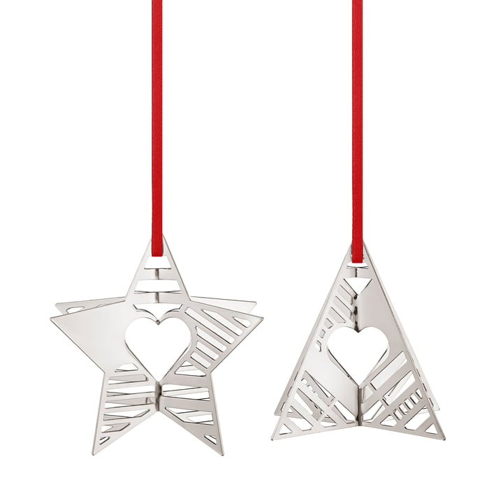 Holiday Ornament 2019 Stern & Baum, palladium von Georg Jensen