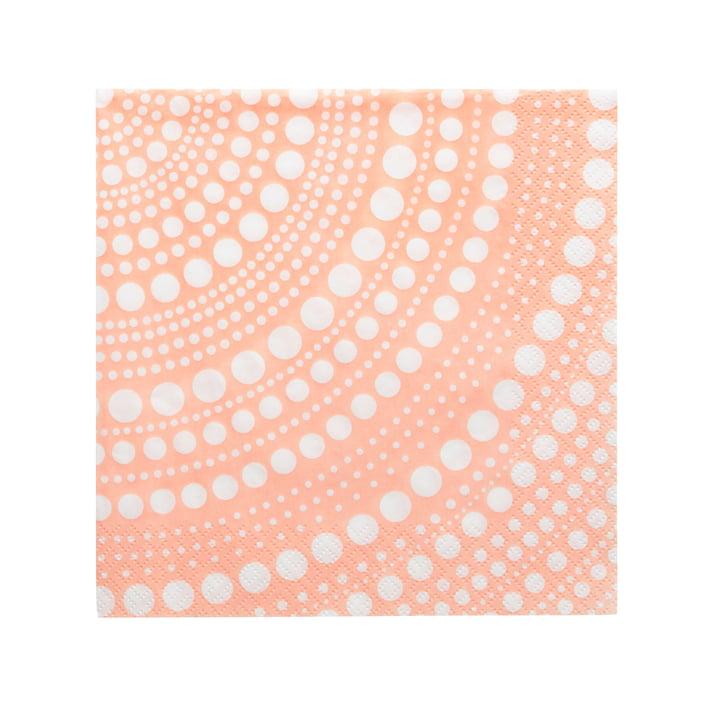 Kastehelmi Papierserviette 33 x 33 cm von Iittala in puder