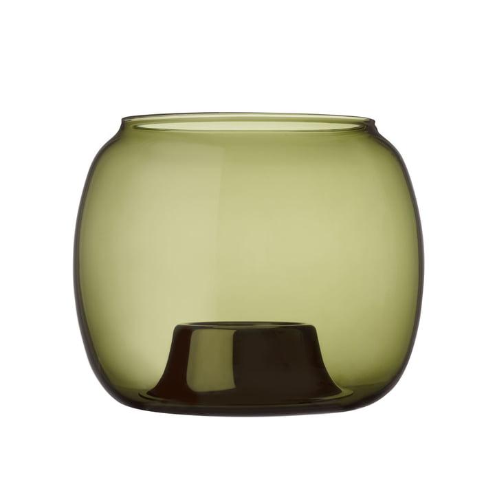 Kaasa Teelichthalter 141 x 115 mm von Iittala in moosgrün