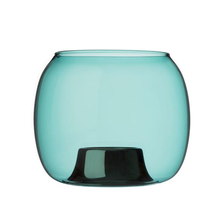 Kaasa Teelichthalter 141 x 115 mm von Iittala in seeblau