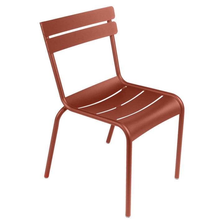 Luxembourg Stuhl von Fermob in ockerrot