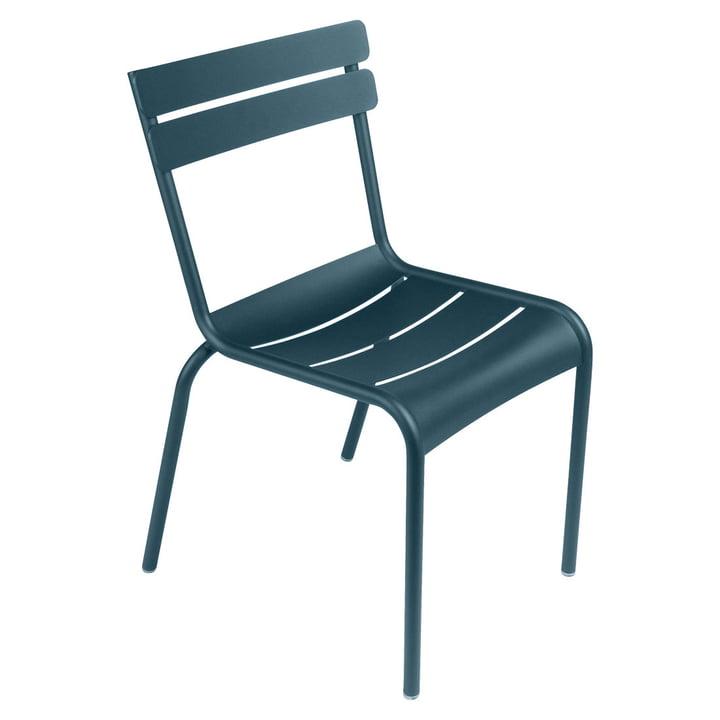 Luxembourg Stuhl von Fermob in acapulcoblau