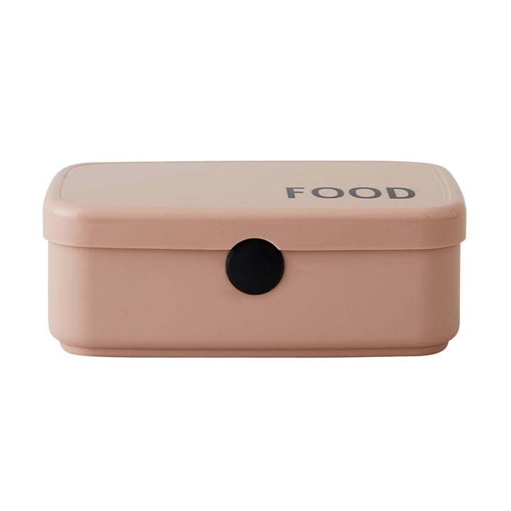 Food & Lunch Box in nude von Design Letters