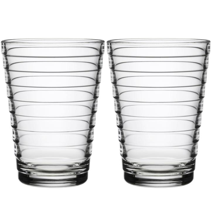Aino Aalto Longdrinkglas 33 cl von Iittala in klar (2er-Set)