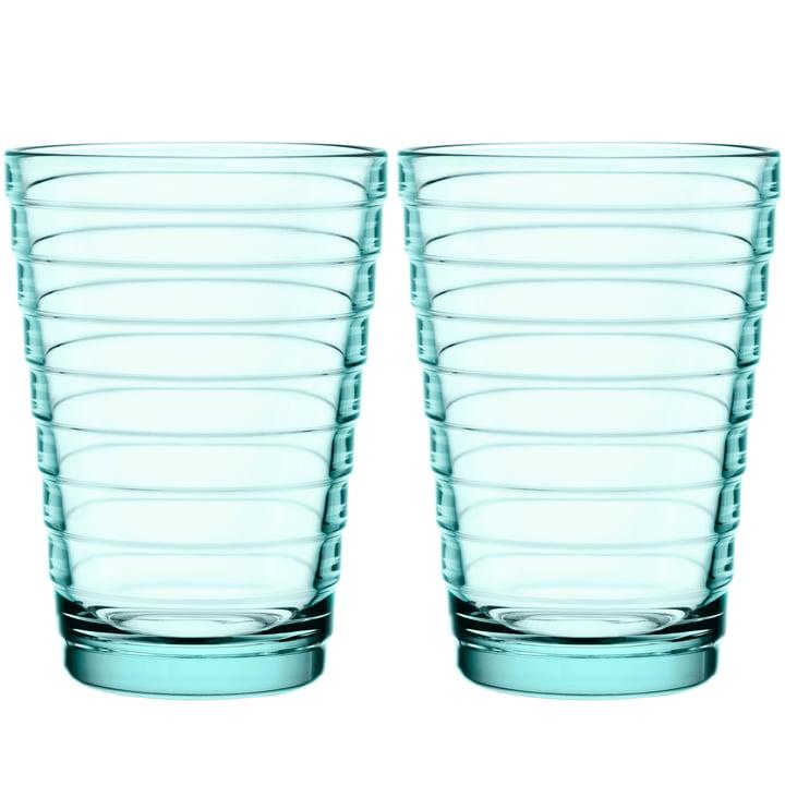 Aino Aalto Longdrinkglas 33 cl von Iittala in wassergrün (2er-Set)